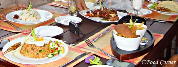 Fried Rice and Nasi Goreng at Boardwalk-Waters Edge,Colombo Sri Lanka