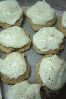 Savory Sweet and Satisfying: Eggnog Cookis
