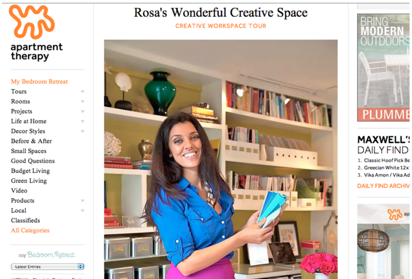 http://www.apartmenttherapy.com/rosas-wonderful-creative-space-office-tour-183143