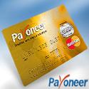bux card cartão payoneer mastercard money visa