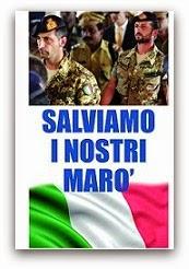 """Solidarietà ai nostri Marò Latorre e Girone"""