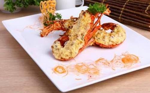 Resep Lobster panggang Keju