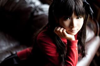 Kanda Midori Cosplay as Tohsaka Rin from Fate/Stay Night