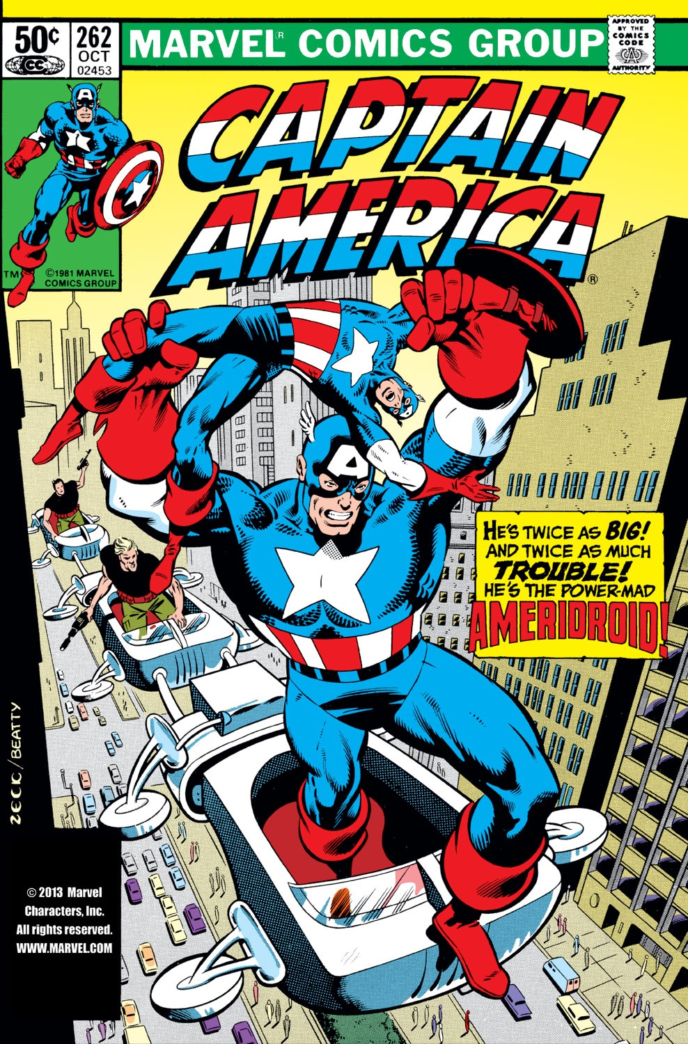 Captain America (1968) Issue #262 #177 - English 1