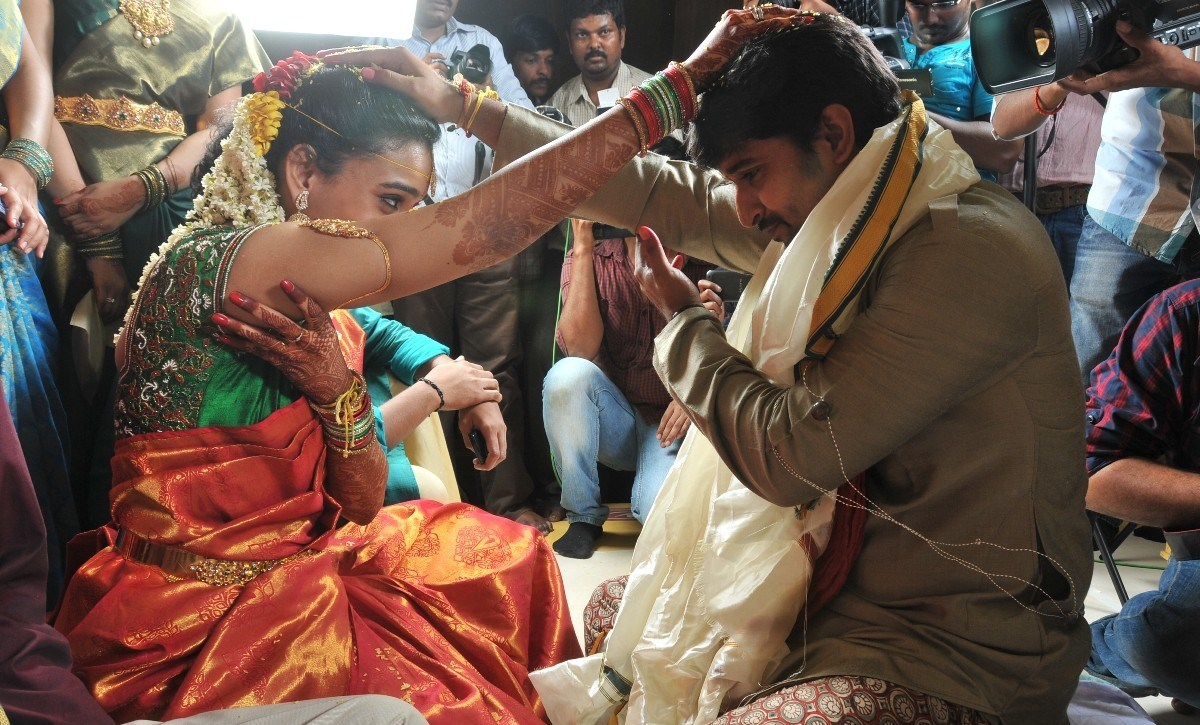 Tollywood Hero Nani Marriage Gallery
