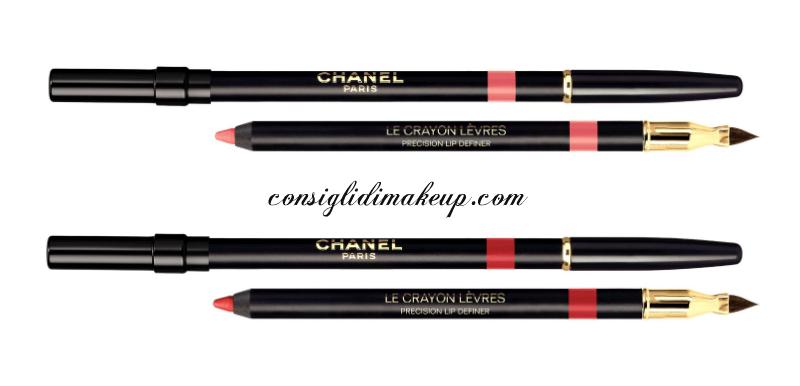 nuove matite labbra chanel collezione primavera 2015