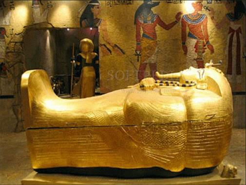 Tutankhamen Treasures ... Funerary Mask Of Tutankhamun