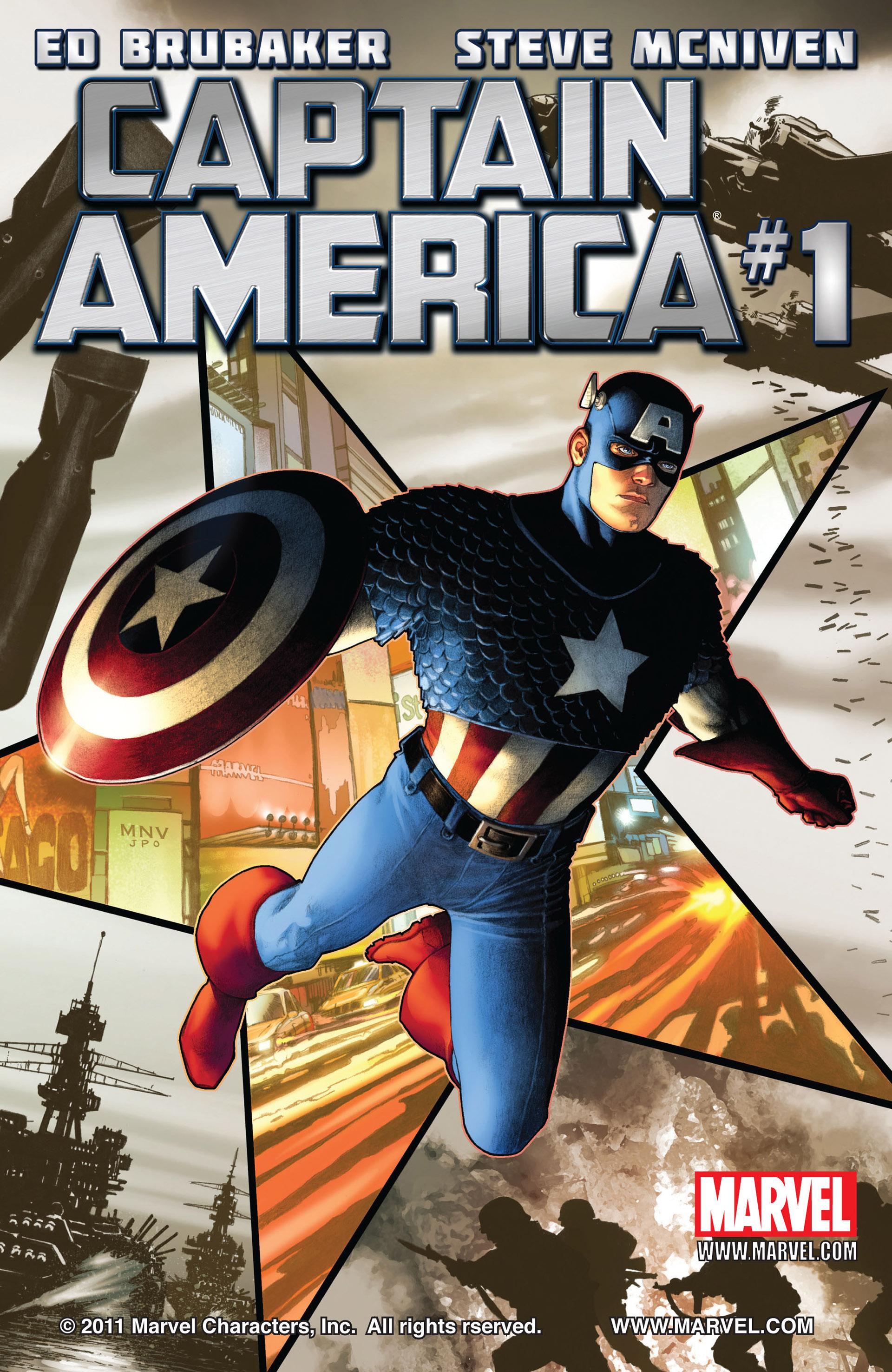 Captain America (2011) Issue #1 #1 - English 1