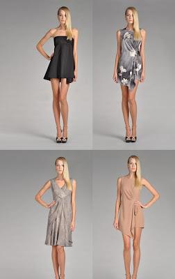4 vestidos de noche