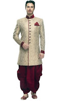 Buy men's sherwani at 40% off from Rs 4,999 :buytoearn