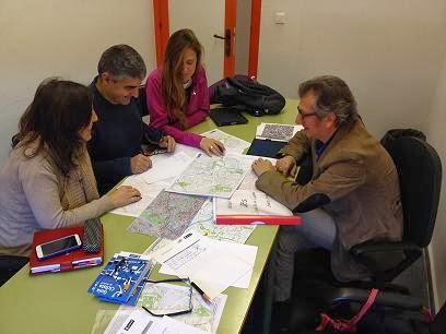 Reunión de diagnóstico en el IES Juan de la Cierva
