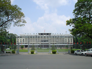 Der Palast der Wiedervereinigung Saigon
