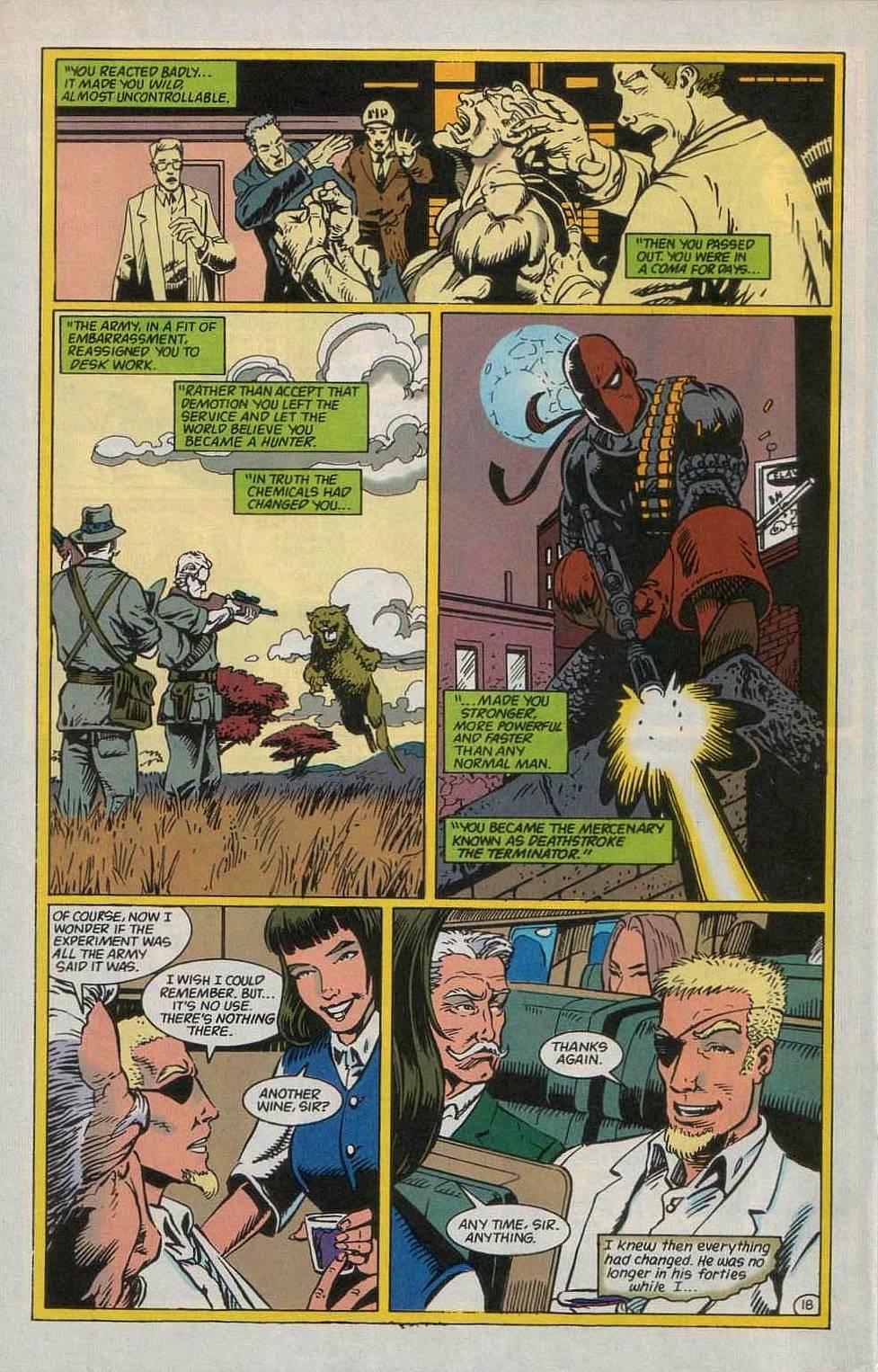 Deathstroke (1991) Issue #55 #60 - English 19