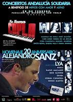 Andalucía Solidaria el 28 de febrero de 2012: conciertos de 'Se llama Copla' y 'Homenaje al 20 Aniversario de Alejandro Sanz'