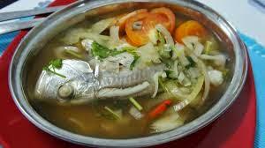 3rd Food : Ikan Rebus