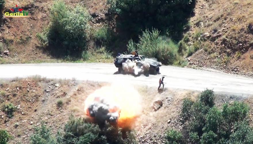Μαζικές επιθέσεις του PKK: Τρέχουν πανικόβλητοι να σωθούν οι Τούρκοι στρατιώτες (φωτό,vid)