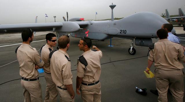 EUA e Reino Unido espionaram drones israelenses por quase 20 anos