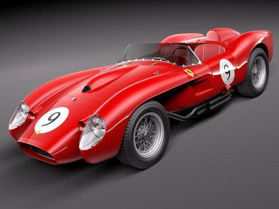 Ferrari 250 Testa Rossa Super Cars