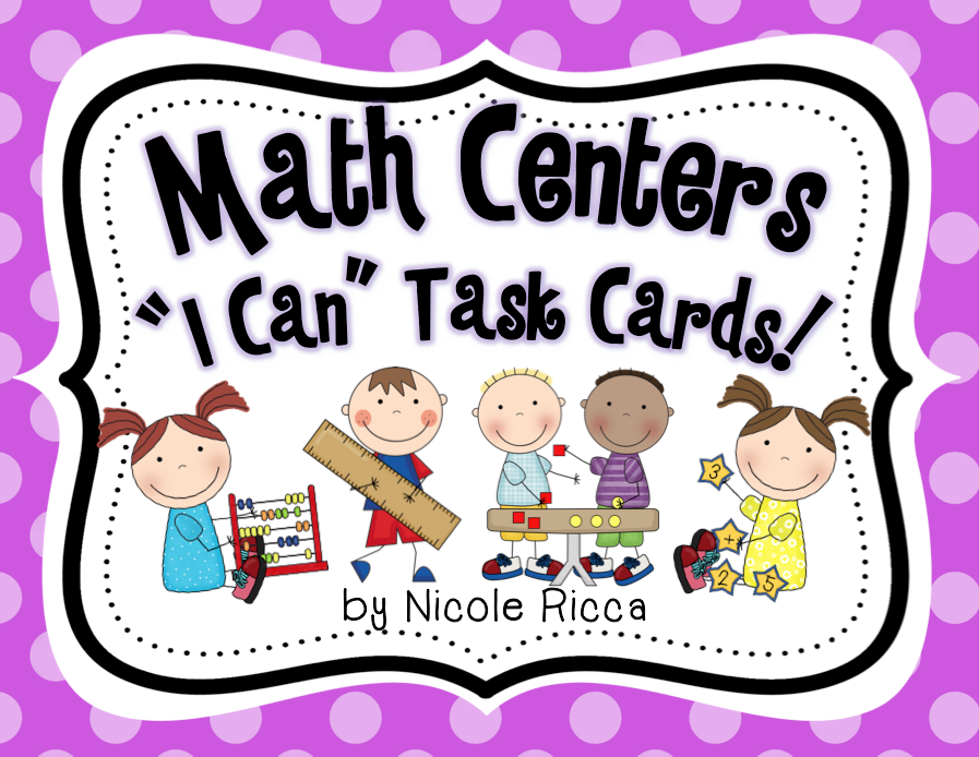 http://www.teacherspayteachers.com/Product/Math-Centers-I-Can-Task-Cards-Common-Core-Aligned-1265916