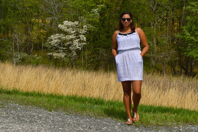 white dress casual summer