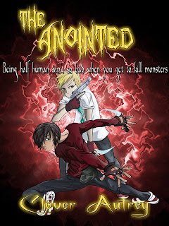 The Anointed Demon Trackers book cover