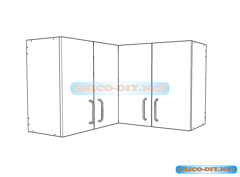 Muebles de cocina melamina planos for Planos para muebles de cocina en melamina