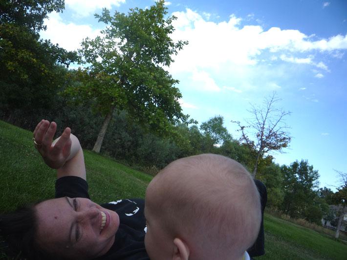 Tristan at the park