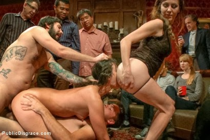 Kinky publique disgrace porno