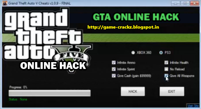 gta 5 hack download ps4