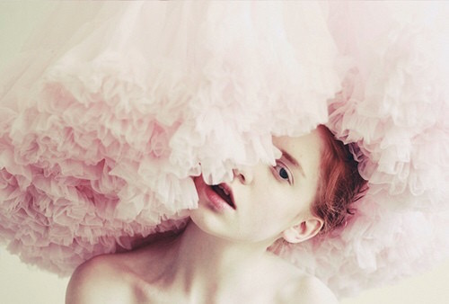 tulle + ballet + pink