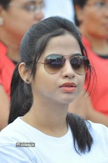 Actress-Swathi-Deekshith-Stills-at-Hyderabad-10k-Run