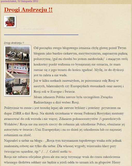 Smoleńsk, wrak, kaczyński, refleksje