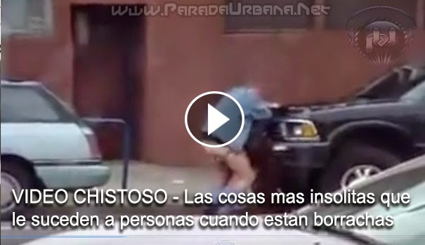 VIDEO CHISTOSO - Las cosas mas insolito que le suceden a personas cuando estan borrachas
