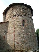 L'absis del primer període romànic de Santa Maria de Vilanova
