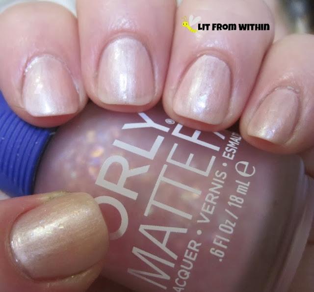 Orly MatteFX Pink Flakie