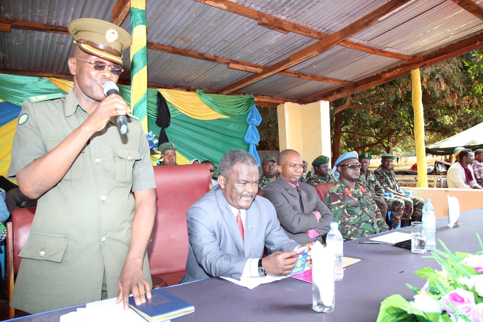 wa Mkoa wa Ruvuma Said Mwambungu na pili kuliaMkuu wa Wilaya ya Songea