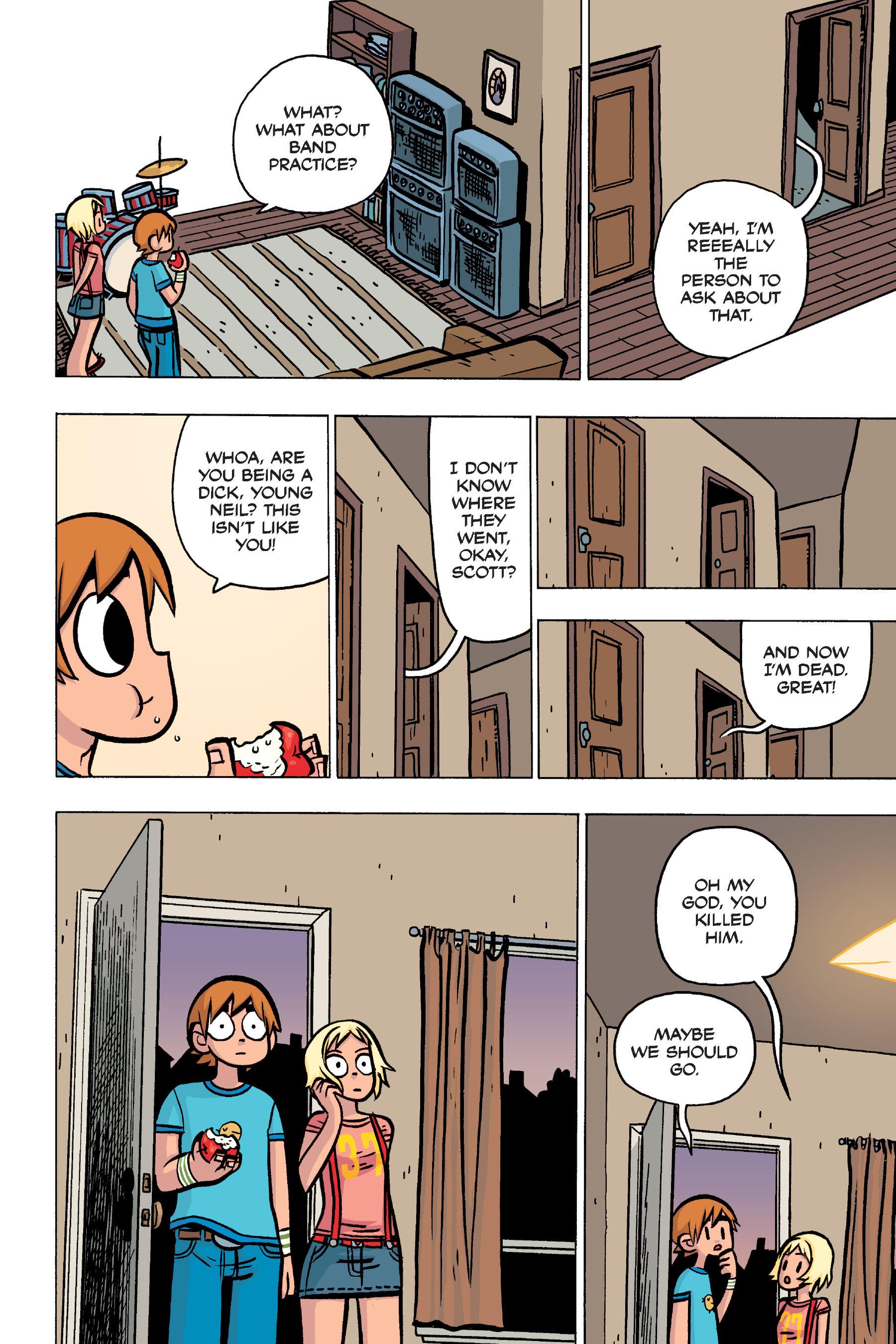 Read online Scott Pilgrim comic -  Issue #4 - 46