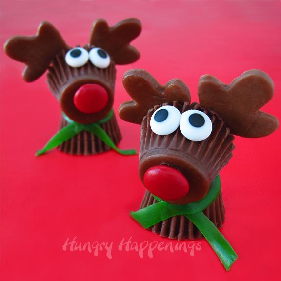 Mignon et délicieux - comment faire Rudolf le renne de beurre d'arachide
