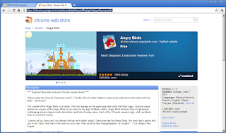 Angry Birds on Chrome Browser
