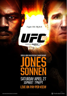 Download Baixar UFC 159: Jones vs. Sonnen HDTV AVI + RMVB