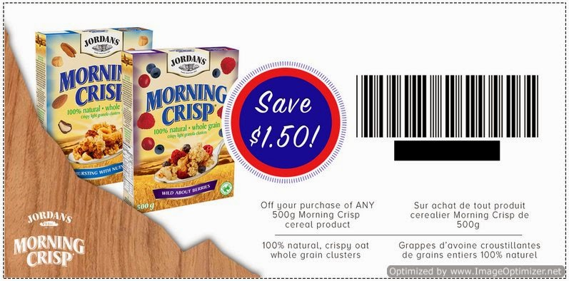 Jordan s Morning Crisp Coupon