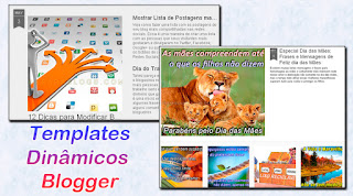 templates dinâmicos do blogspot
