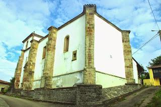 Villaviciosa, Sietes, iglesia de San Emeterio