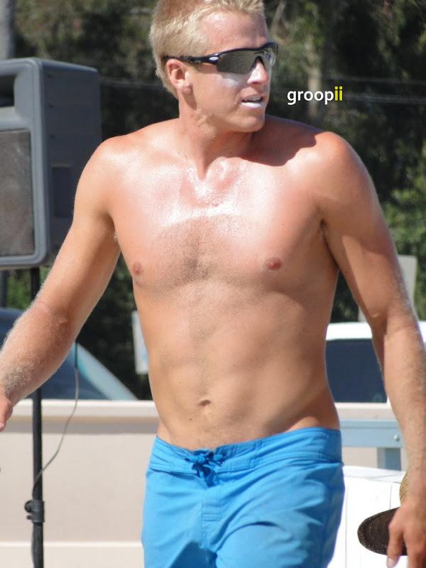Will Montgomery Shirtless at the NVL Malibu 2011