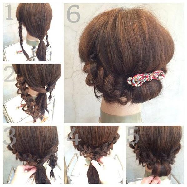 C mo hacer peinados bonitos y r pidos paso a paso cuidar - Como hacer peinados faciles y bonitos ...