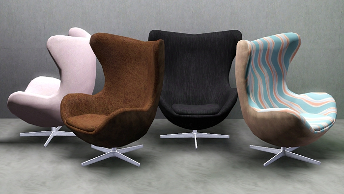 Empire sims 3 f h modern living room set by pocci for 3 star living room chair sims