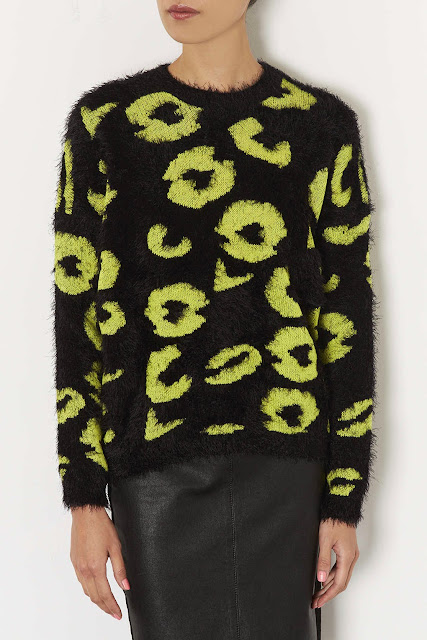 black and yellow jumper