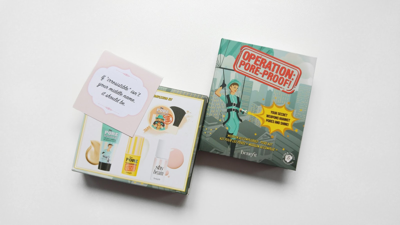 Benefit Cosmetics Operation Pore-Proof Kit