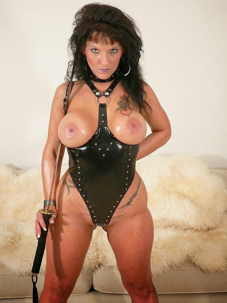 leather lesbian dominatrix