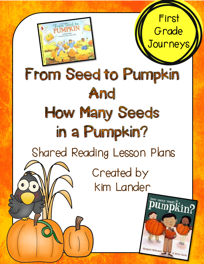 http://www.teacherspayteachers.com/Product/Perfectly-Pumpkin-Reading-Lesson-Plans-and-Supplemental-Materials-Journeys-1471318